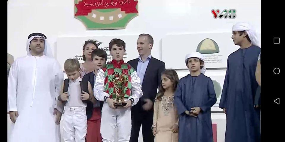 Le jeune Louis Bouton sacré champion du monde des poneys à Abu Dhabi