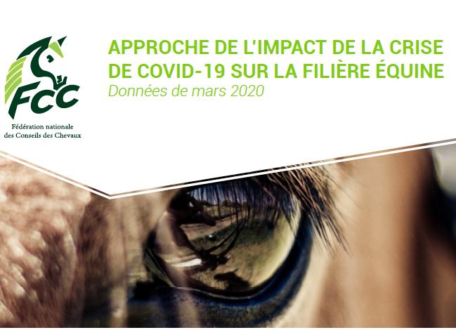 La note nationale d'impact du Covid19 sur les activités des professionnels de la filière équine vient de sortir !