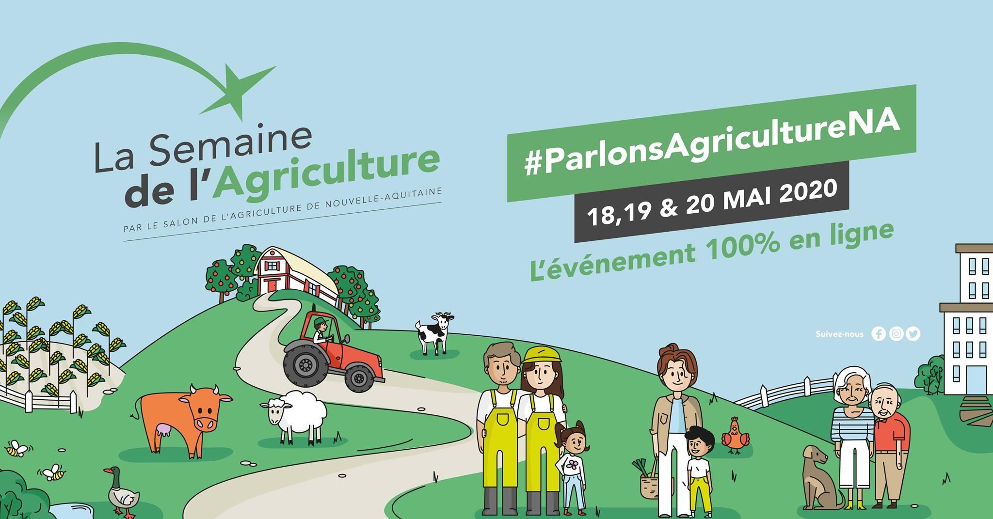 Semaine de l'Agriculture NA : 100% en ligne