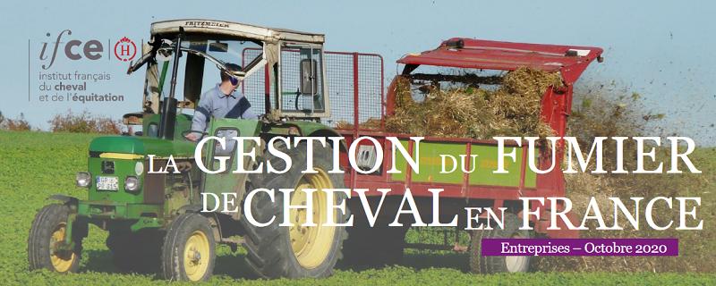 IFCE Val Fumier : La gestion du fumier de cheval en France