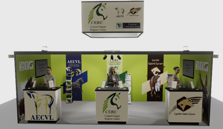 le CERC sera présent au Salon Digital du Cheval du 5 au 13 décembre