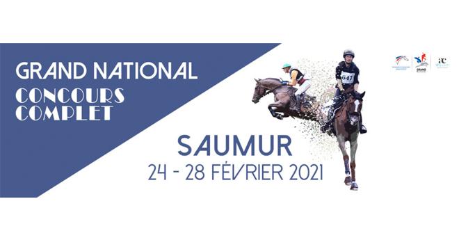 Grand National FFE de Concours Complet de Saumur : 30 couples au départ de cette 1ère étape
