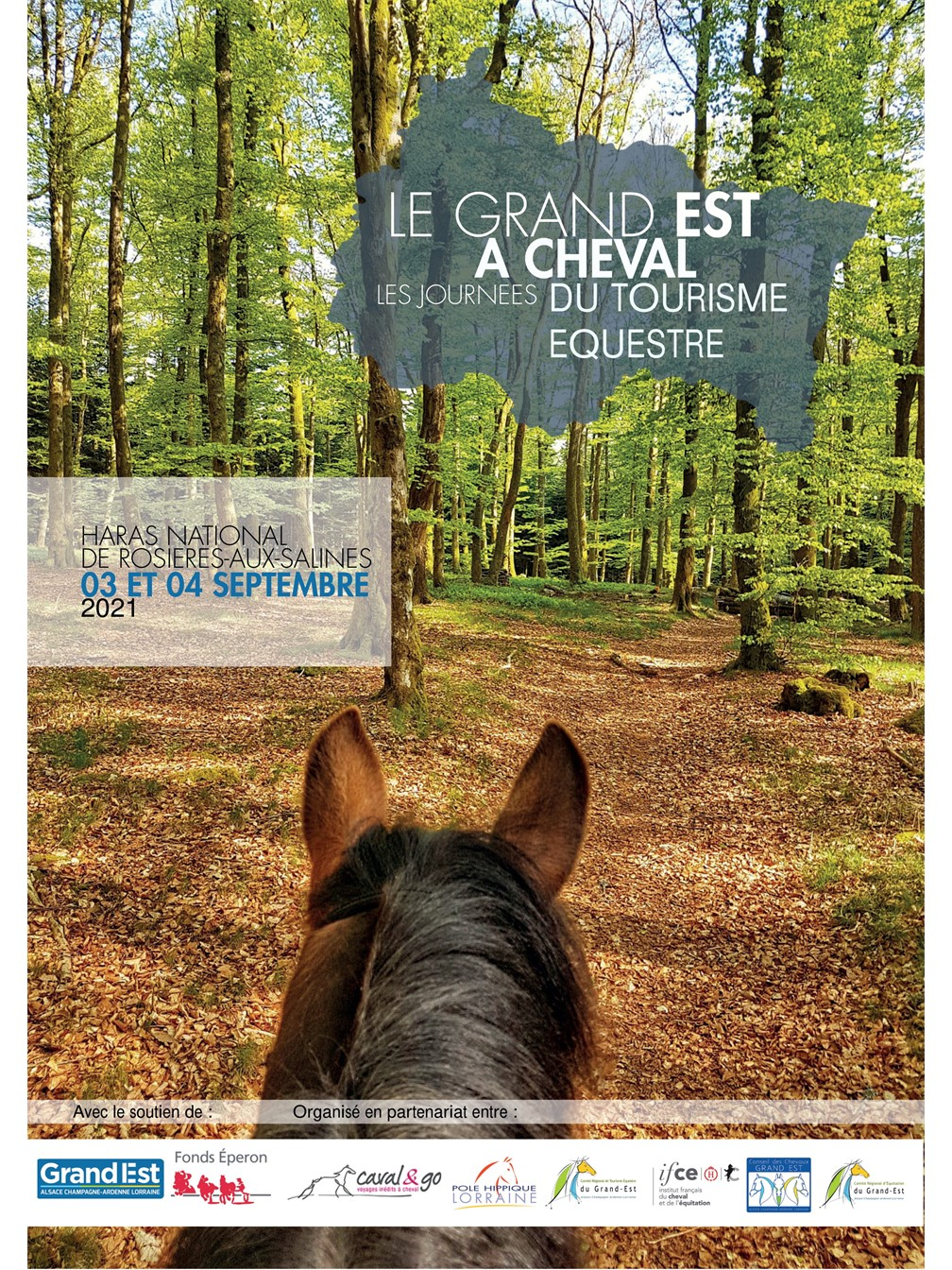 Le Grand Est à Cheval, les journées du tourisme équestre
