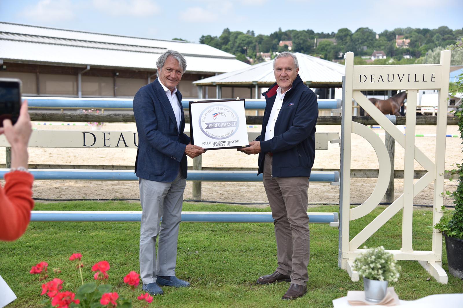 Le PIC de Deauville labellisé Pôle d'excellence de compétition équestre par la FFE