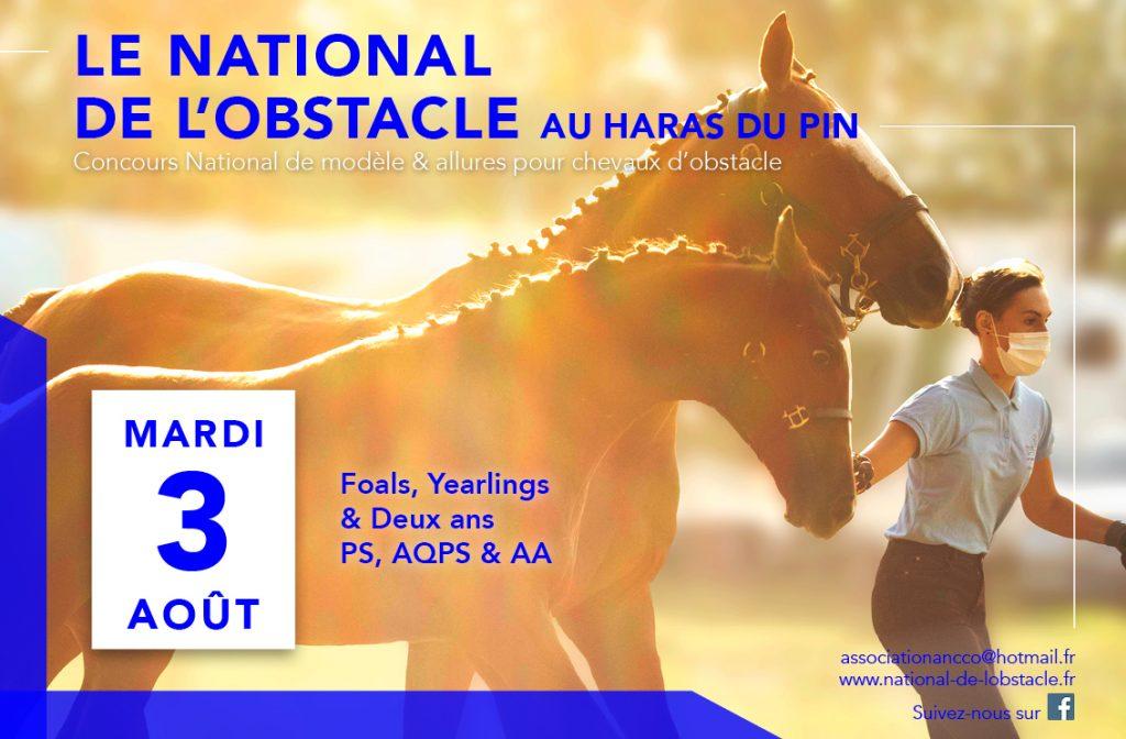 National de l'Obstacle et Normandie équi-projets Tour le 3 août