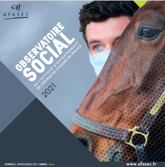 Observatoire Social de l'activité d'entraînement de chevaux de courses en France 2021