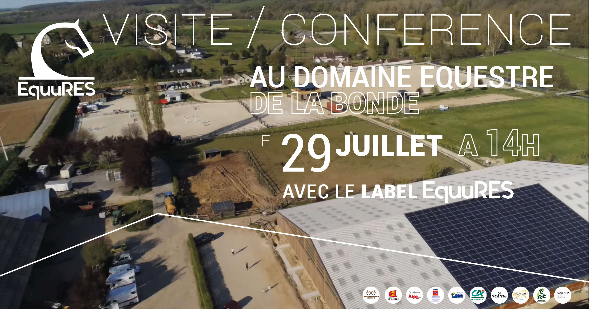 Visite d'un site labellisé EquuRES le 29 juillet dans l'Eure !