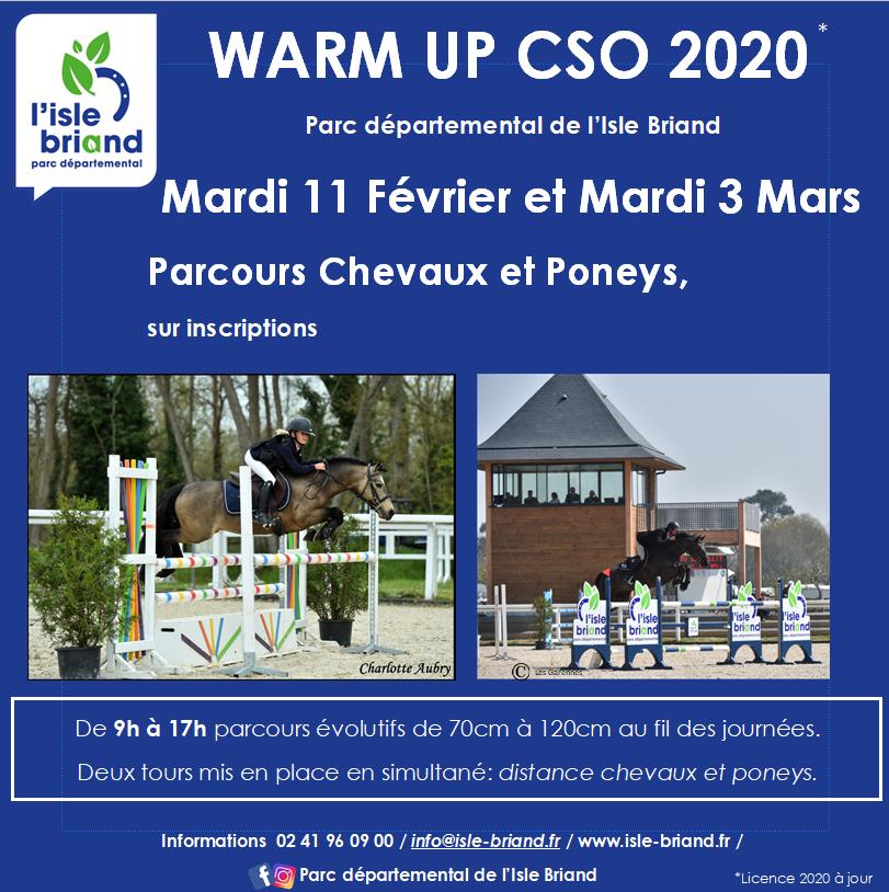 Warm up CSO au Lion d'Angers