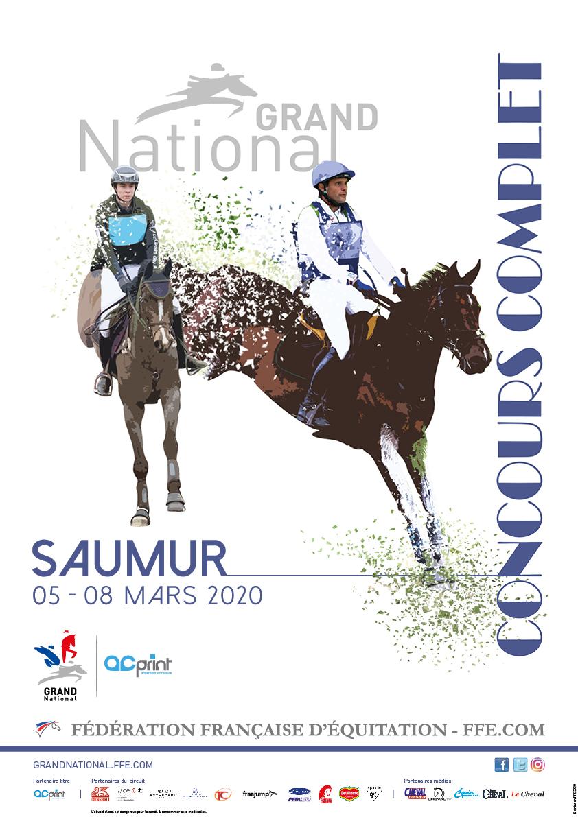 Grand national de concours complet à Saumur