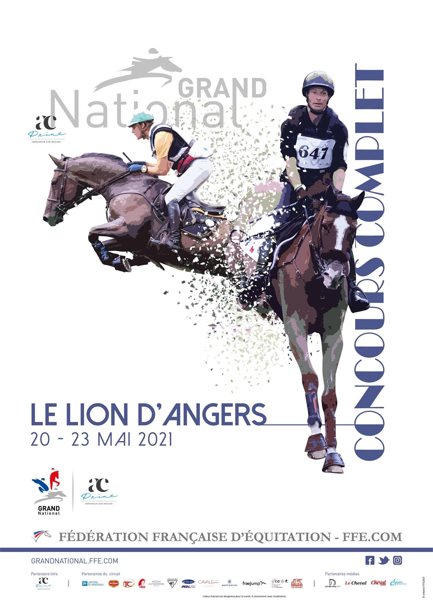 Grand National FFE - AC Print  Concours Complet au Lion d'Angers