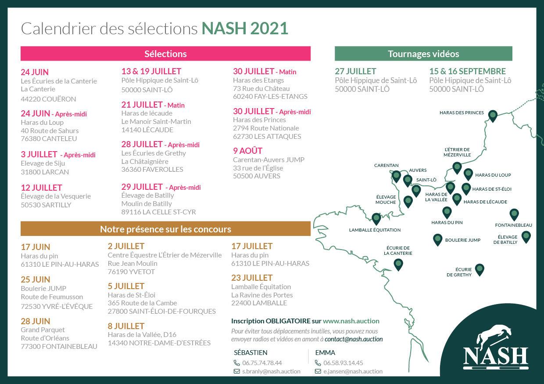 Selections NASH 2021