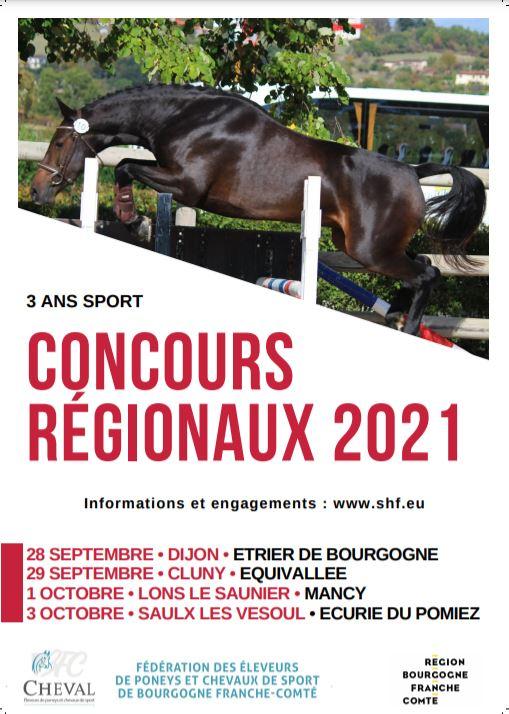 Régional 3 ans Sport - Dijon (21)