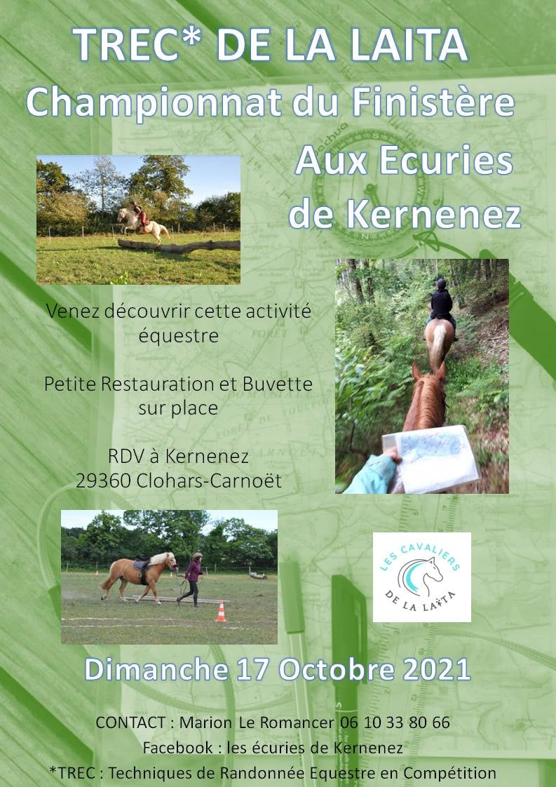 Championnat de TRECdu Finistère - Ecuries de Kernenez