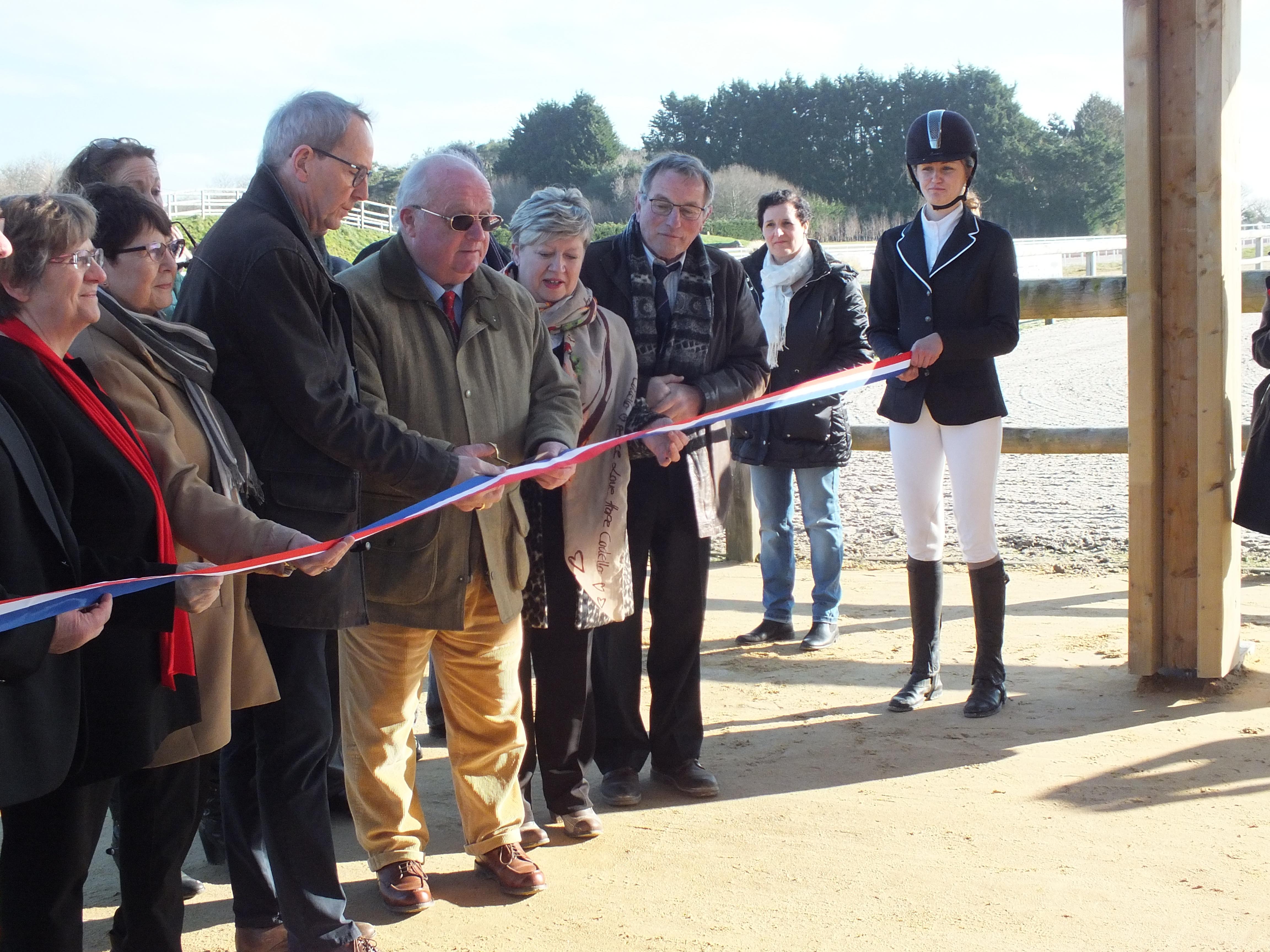 Inauguration de l'Equipôle du Pays de Landivisiau