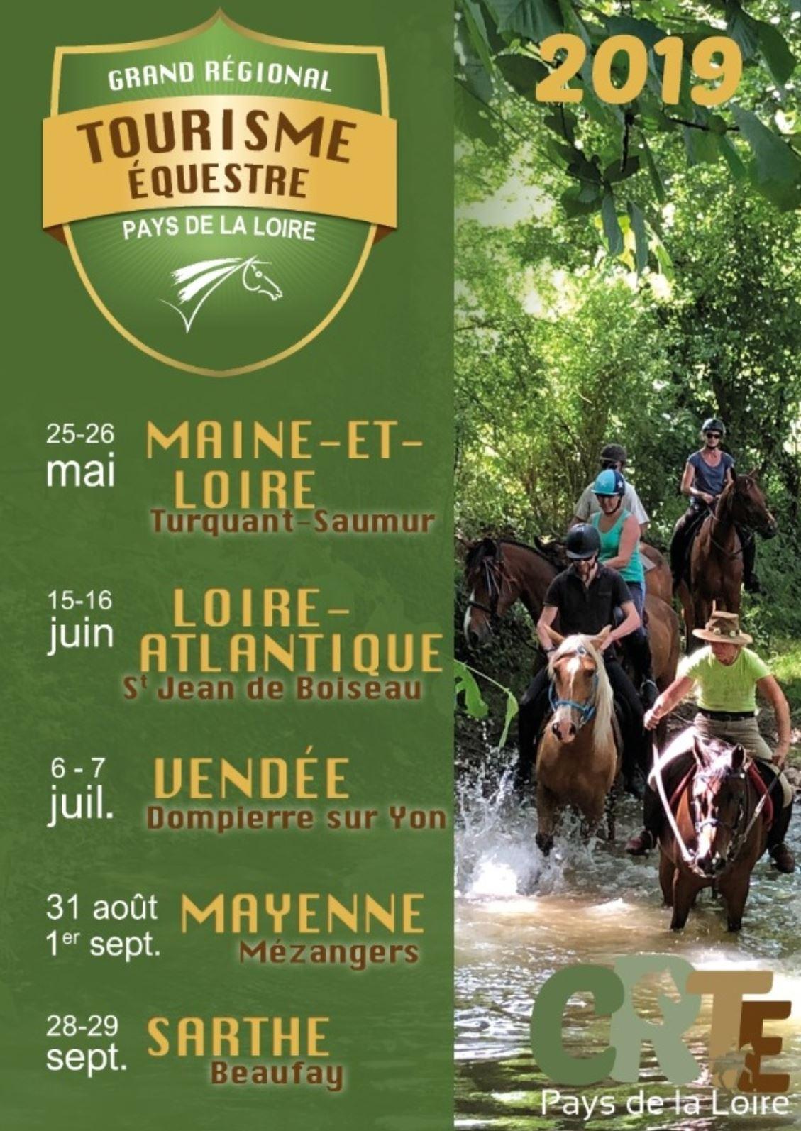 Participez au Grand Régional de Tourisme Equestre