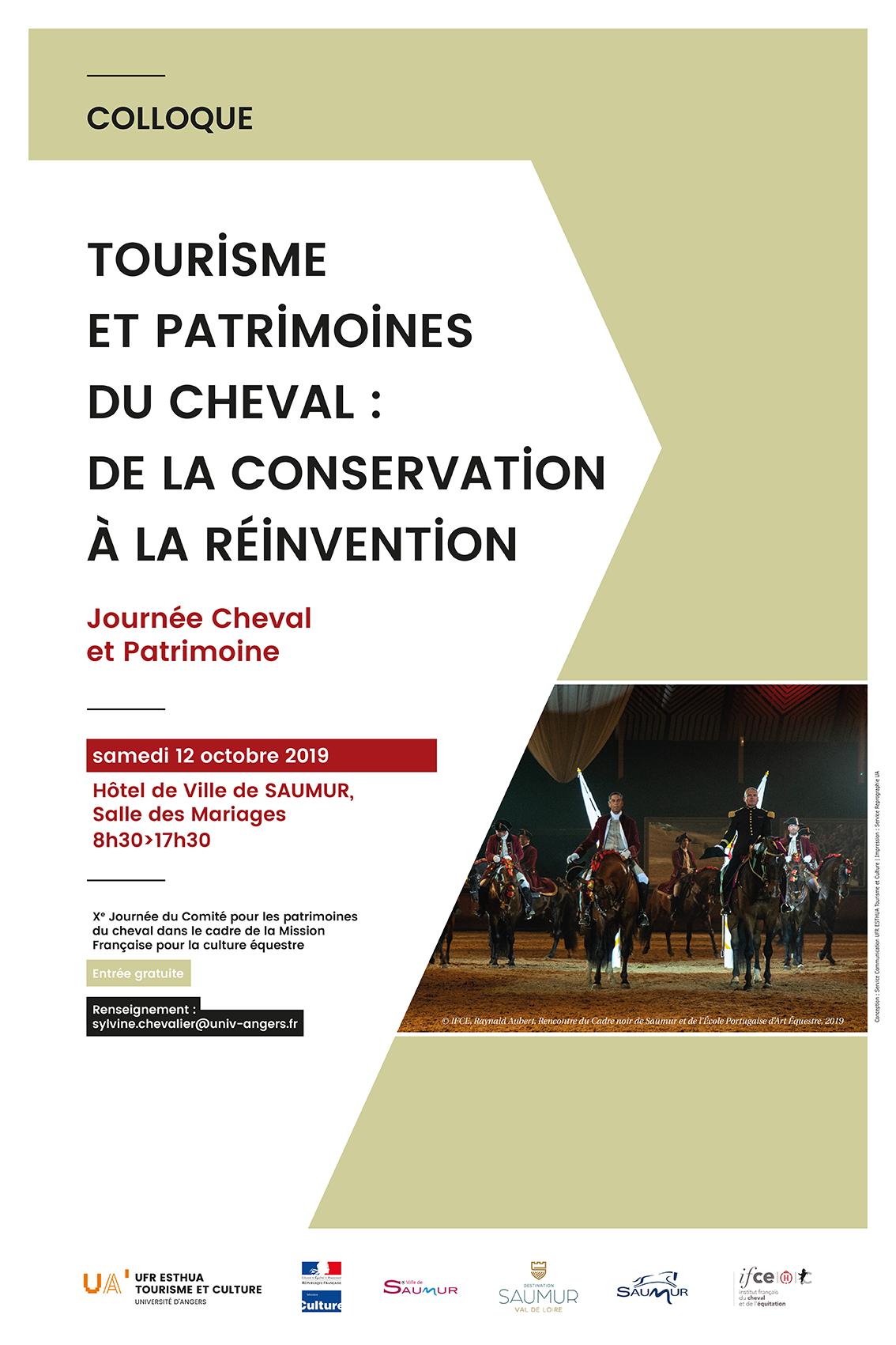 Saumur. Un colloque autour du tourisme équestre le samedi 12 octobre