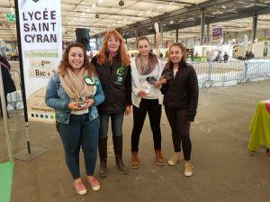 Concours de jugement des jeunes lors de Ferme Expo Tours