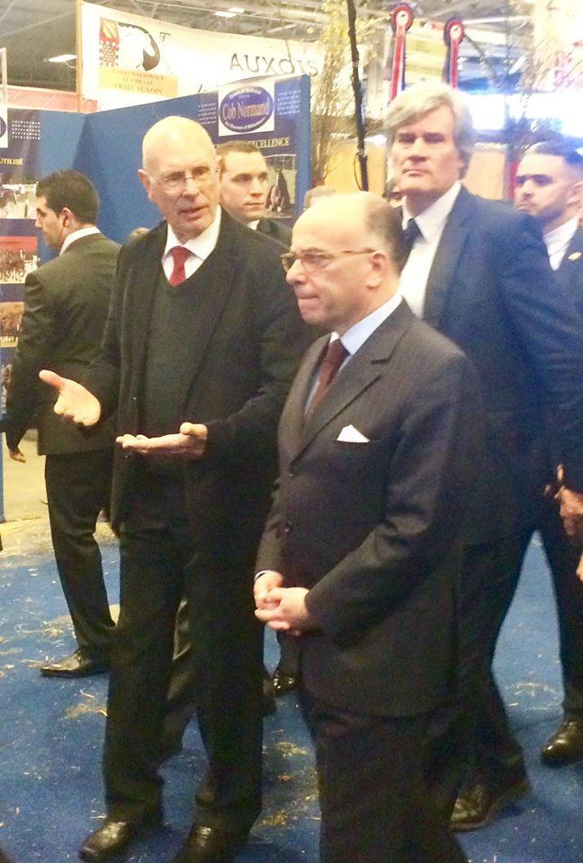 Les ministres en visite sur le stand de la SFET au SIA Paris