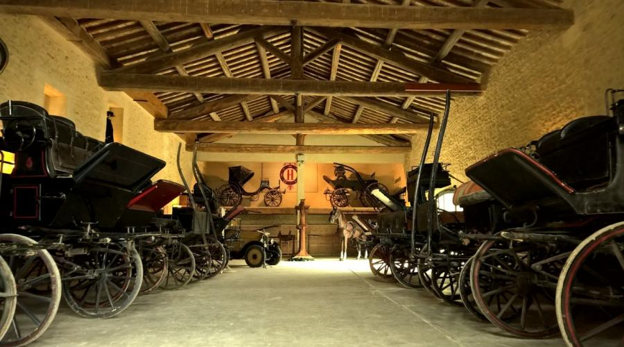 Un musée des voitures hippomobiles à Saumur